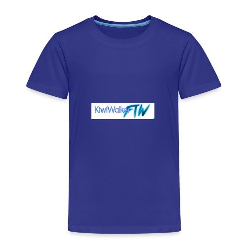 Kiwi logo hoodie - Kids' Premium T-Shirt