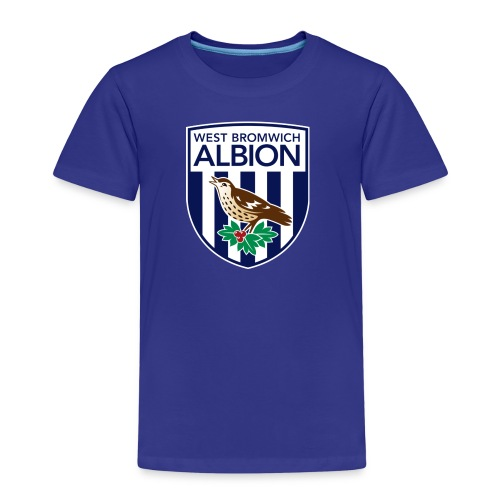 West Bromwich Albion Official Merchandise - Kids' Premium T-Shirt
