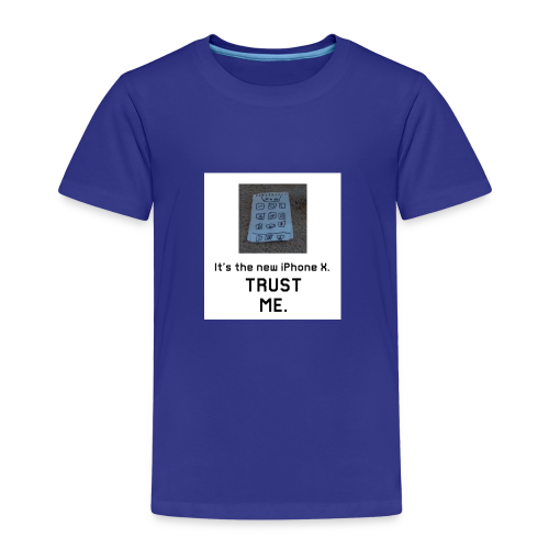 Paper iPhone X - Kids' Premium T-Shirt
