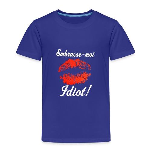 embrasse moi - T-shirt Premium Enfant