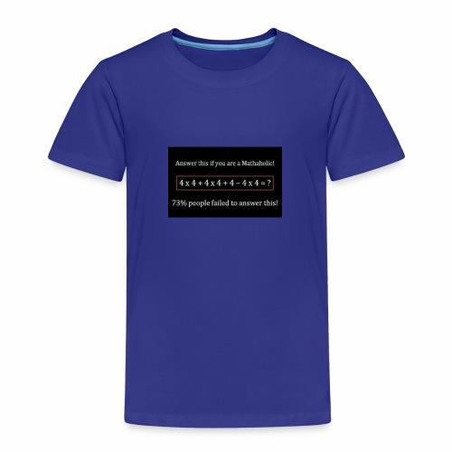 Math Problem - Kids' Premium T-Shirt