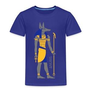 Der altägyptische Gott Anubis - Kinder Premium T-Shirt