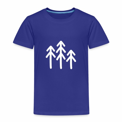 RIDE.company - just trees - Kinder Premium T-Shirt