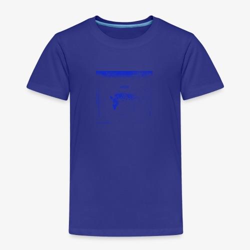 Hyena Blue - Premium-T-shirt barn