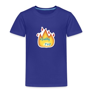 Gabby710 Flame Merch - Kids' Premium T-Shirt