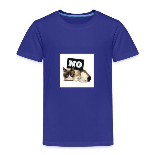 Crumpy Cat - Kinder Premium T-Shirt