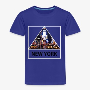 Triangle sur New York - T-shirt Premium Enfant