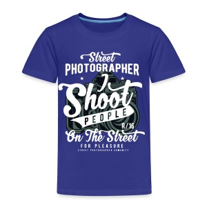 SHOOT PEOPLE - Cam Kamera Shirt Prensent - Kinder Premium T-Shirt