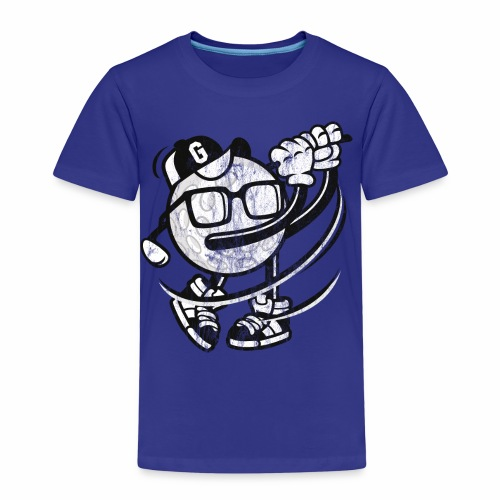 GOLFER - Golf Golfball Comicfigur Cartoon Geschenk - Kinder Premium T-Shirt