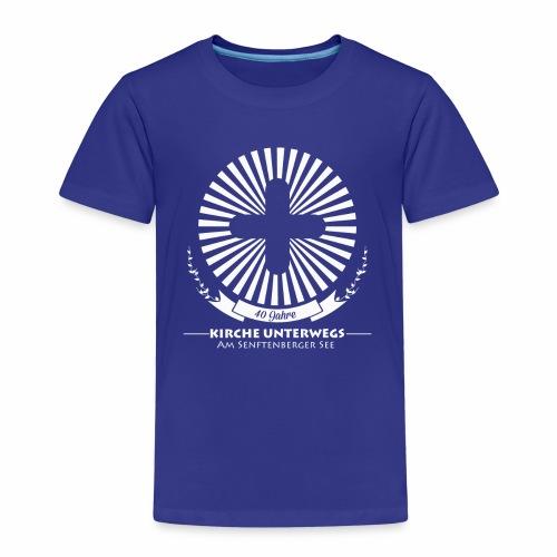 KU Shirt back white - Kinder Premium T-Shirt