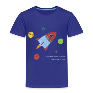 spaceship - Premium-T-shirt barn