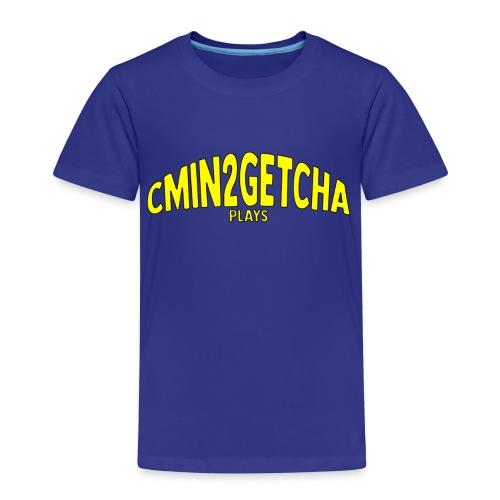 cmin2getcha plays Name [YELLOW DESIGN] - Kids' Premium T-Shirt