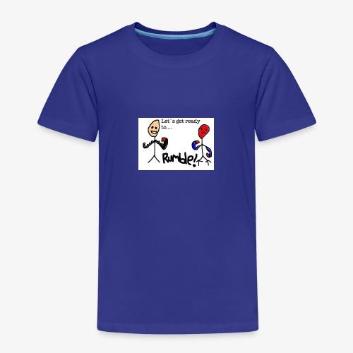 Let`s get ready to rumble! logo - Premium T-skjorte for barn