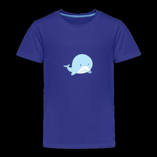 Whale - Maglietta Premium per bambini