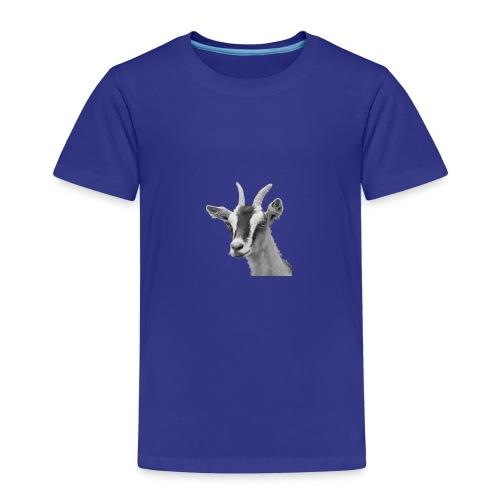 Ziegenkopf schwarzweiss freigestellt - Kinder Premium T-Shirt