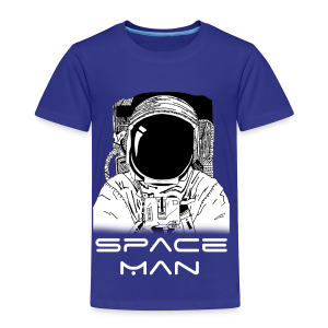 Space man white - Kids' Premium T-Shirt