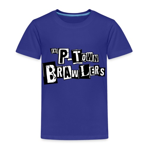 P-town Brawlers tekstilogo - Lasten premium t-paita