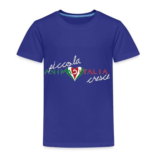 piccola anima d italia cresce 1A - Maglietta Premium per bambini