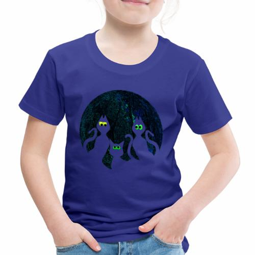 Spooky cats get Spooked - Kids' Premium T-Shirt