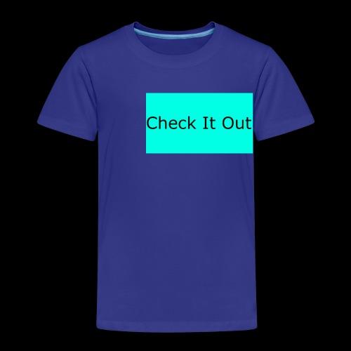 check it out - Kids' Premium T-Shirt