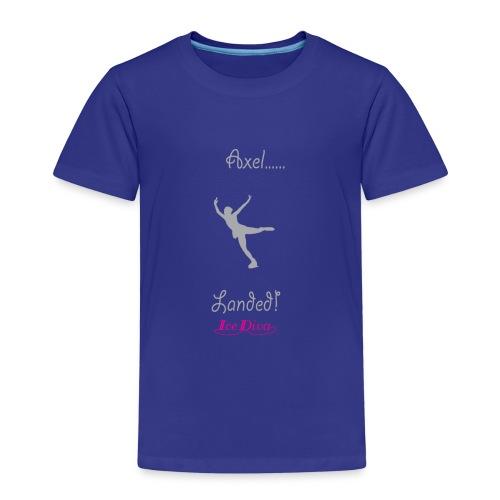 Axel Landed - IceDiva - Kids' Premium T-Shirt