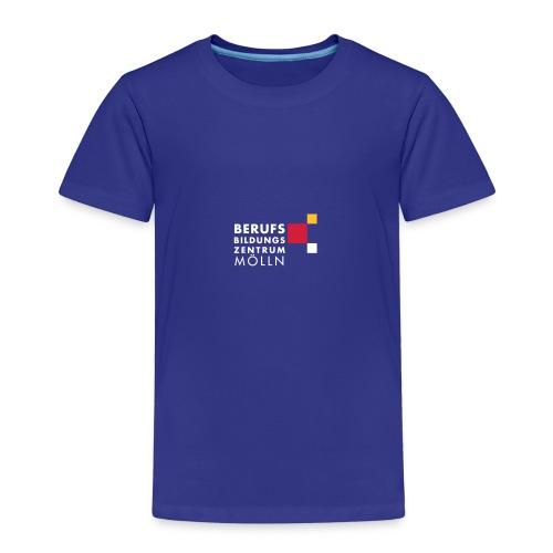 BBZ Logo weisse Schrift Schulkleidung.eps - Kinder Premium T-Shirt