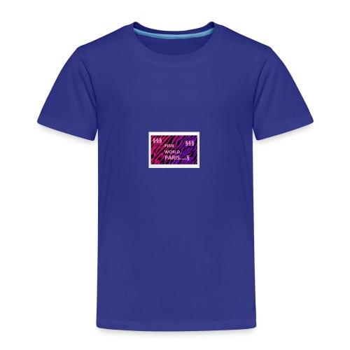 PINK WORLD PARIS - T-shirt Premium Enfant