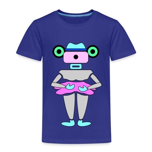 robottino futuristico - Kinder Premium T-Shirt
