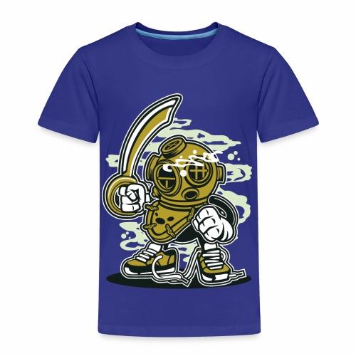 EIN TAUCHER - Lustige Comic Cartoonfigur Geschenk - Kinder Premium T-Shirt