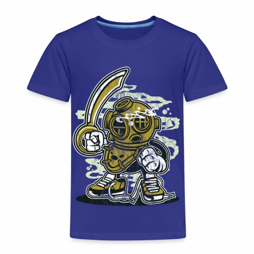 TAUCHER - Lustige Comic Cartoonfigur Geschenk - Kinder Premium T-Shirt