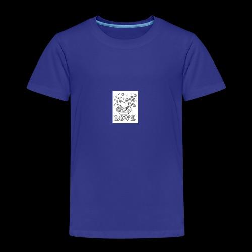 Love 2 - Kinder Premium T-Shirt
