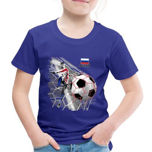 GP22F-04 RUSSIAN FOOTBALL TEXTILES AND GIFTS - Lasten premium t-paita