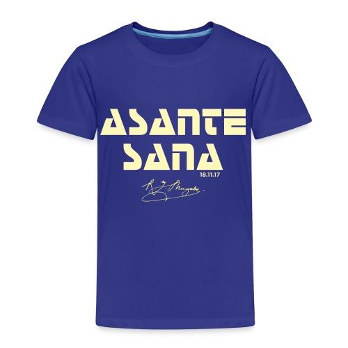 Asante sana pale gold - Kids' Premium T-Shirt
