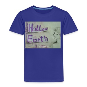 Hollow Earth-T-Shirt mit Bild - Kinder Premium T-Shirt