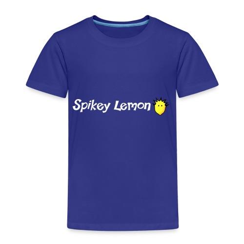 Spikey Lemon Clear White - Kids' Premium T-Shirt