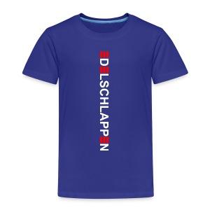 edelschlappen weiß - Kinder Premium T-Shirt
