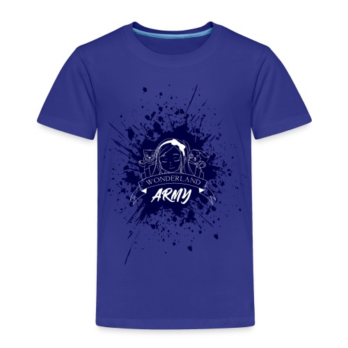 Wonderland Army - Kinder Premium T-Shirt