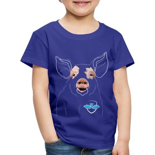 Das Schwein (weiß) - Kinder Premium T-Shirt