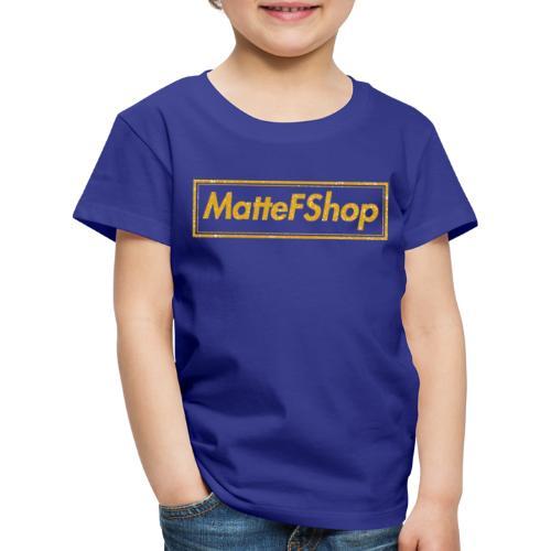 Gold Collection! (MatteFShop Original) - Maglietta Premium per bambini