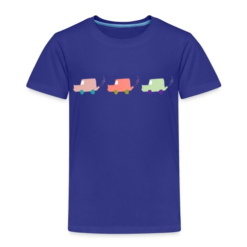 Bunte Autos - Kinder Premium T-Shirt