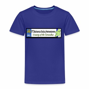 MONAGHAN, IRELAND: licence plate tag style decal - Kids' Premium T-Shirt