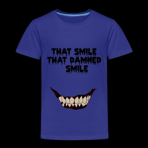 13 reasons why horror smile - Maglietta Premium per bambini