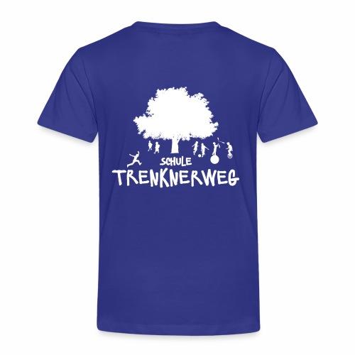 Weißes Logo: nur für grüne Textilien! - Kinder Premium T-Shirt