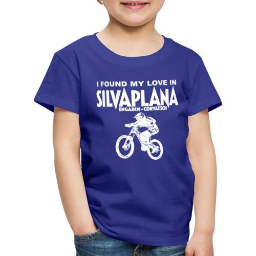 I found my love in Silvaplana, Mountainbiking - Kinder Premium T-Shirt