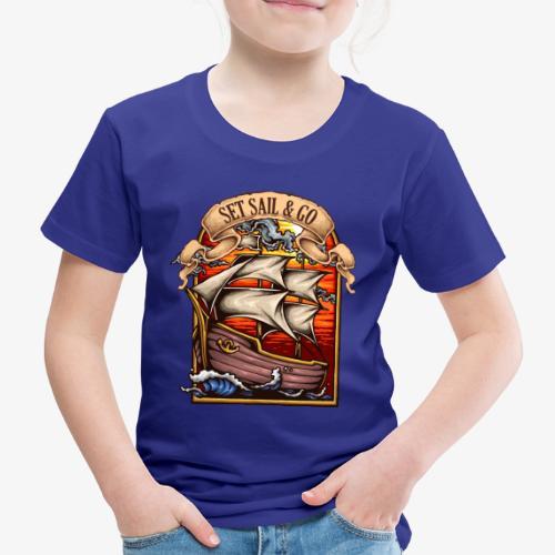 der Explorer - Kinder Premium T-Shirt