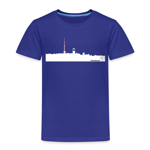 Skyline Inselsberg weiss - Kinder Premium T-Shirt