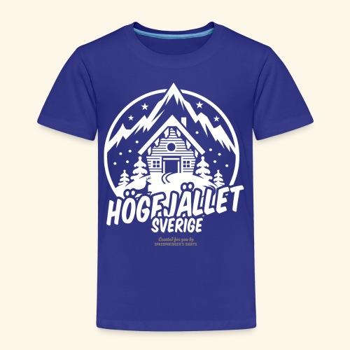 Sverige Ski Resort Sälen Hogfjället - Kinder Premium T-Shirt