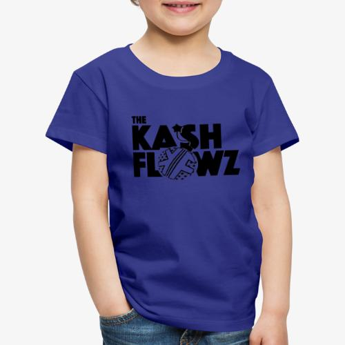 The Kash Flowz Official Bomb Black - T-shirt Premium Enfant