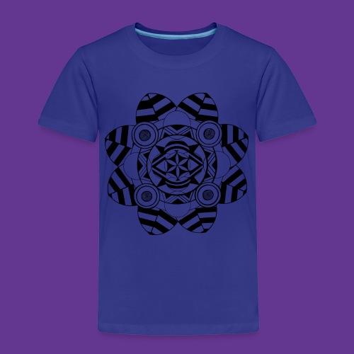 Mandala, Blume , Kunstwerk - Kinder Premium T-Shirt
