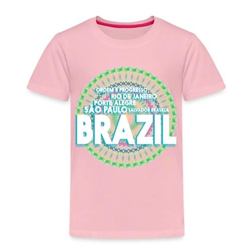 Lemon Brazil Mandala - T-shirt Premium Enfant